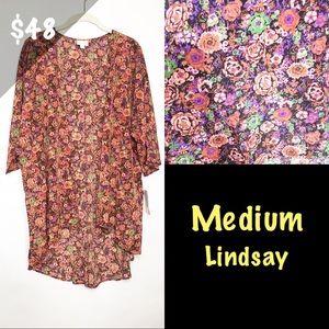 NWT LuLaRoe Medium Lindsay Floral